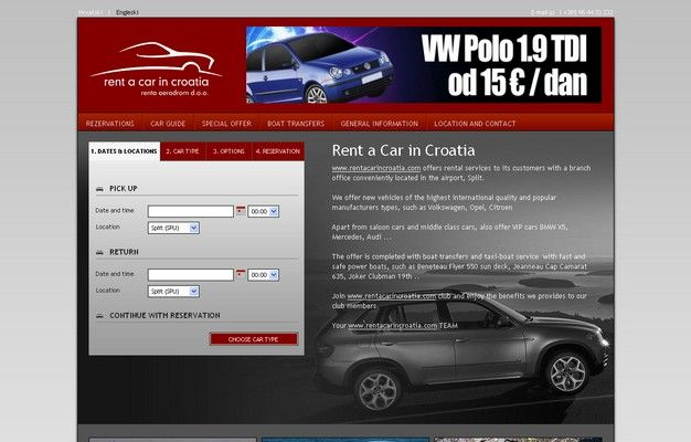 Rent a car in Croatia